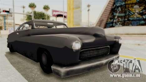Beta VC Hermes pour GTA San Andreas vue de droite