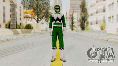 Power Rangers Lost Galaxy - Green pour GTA San Andreas deuxième écran