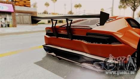 Lamborghini Huracan Libertywalk Kato Design pour GTA San Andreas vue de côté