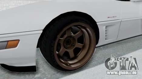 Chevrolet Corvette C4 Drift für GTA San Andreas Rückansicht