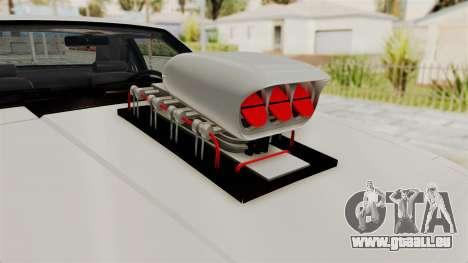 Ford Mustang 1991 Monster Truck für GTA San Andreas Rückansicht