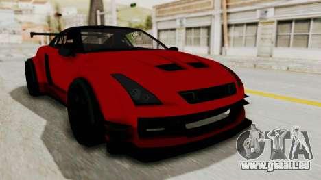 GTA 5 Annis Elegy Twinturbo No Spec pour GTA San Andreas