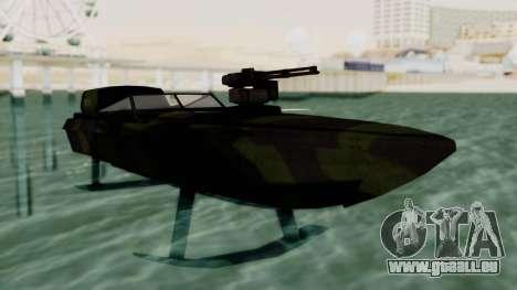 Triton Patrol Boat from Mercenaries 2 pour GTA San Andreas