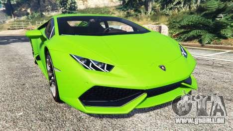 Lamborghini Huracan LP 610-4 2016 für GTA 5