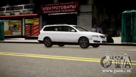 Volkswagen Passat Variant 2010 V1 pour GTA 4 est un droit