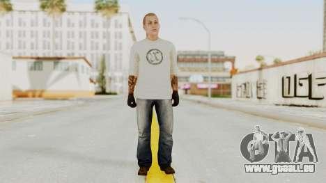 GTA 5 Tattooist v2 pour GTA San Andreas deuxième écran