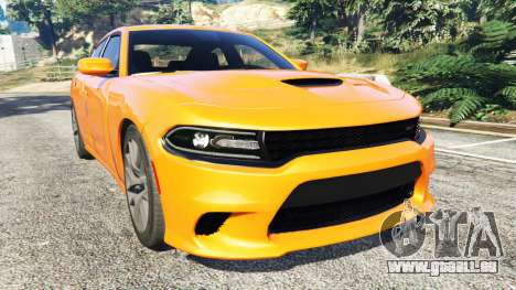 Dodge Charger SRT Hellcat 2015 v1.2 pour GTA 5