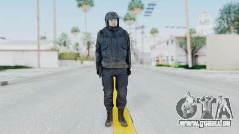MGSV Phantom Pain Zero Risk Vest v2 pour GTA San Andreas deuxième écran