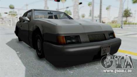Lumia (Civil Hotring Racer) für GTA San Andreas rechten Ansicht