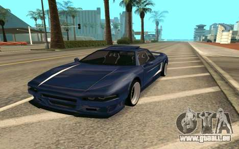 Infernus BlueRay V12 pour GTA San Andreas