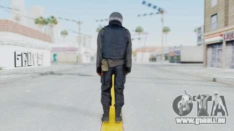 MGSV Phantom Pain Zero Risk Vest v1 pour GTA San Andreas troisième écran