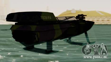 Triton Patrol Boat from Mercenaries 2 pour GTA San Andreas laissé vue