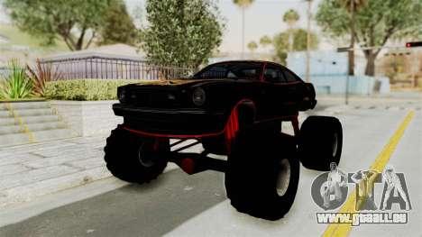 Ford Mustang King Cobra 1978 Monster Truck pour GTA San Andreas