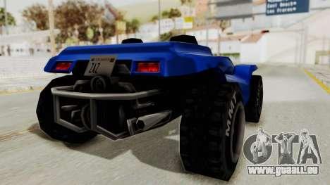 BF Buggy pour GTA San Andreas vue de droite