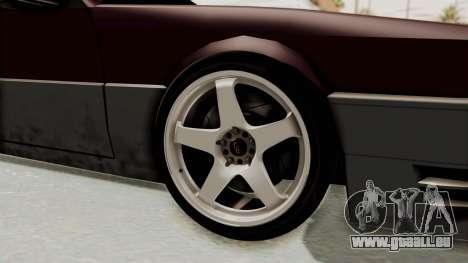 Blista CRX pour GTA San Andreas vue arrière