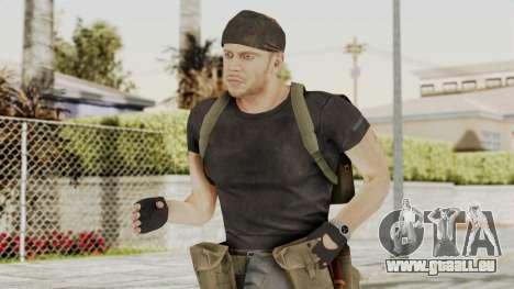 MGSV Phantom Pain RC Soldier T-shirt v1 für GTA San Andreas