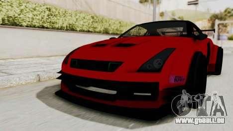 GTA 5 Annis Elegy Twinturbo No Spec pour GTA San Andreas vue de droite