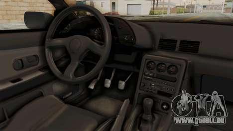 Nissan Skyline R32 4 Door für GTA San Andreas Innenansicht