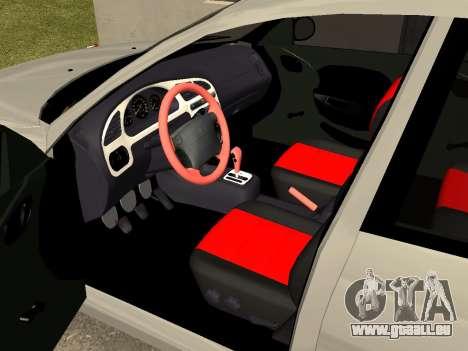 Daewoo Lanos (Sens) 2004 v2.0 by Greedy pour GTA San Andreas vue de côté