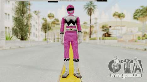 Power Rangers Lost Galaxy - Pink für GTA San Andreas zweiten Screenshot