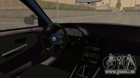 Nissan Silvia Sil80 pour GTA San Andreas vue intérieure
