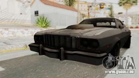 Ford Gran Torino 1975 Special Edition pour GTA San Andreas sur la vue arrière gauche