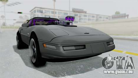 Chevrolet Corvette C4 Drag pour GTA San Andreas vue de droite
