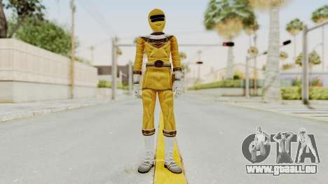 Power Ranger Zeo - Yellow für GTA San Andreas zweiten Screenshot