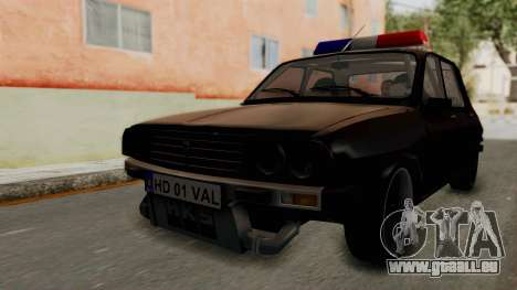 Dacia 1310 TX Turbo Police pour GTA San Andreas