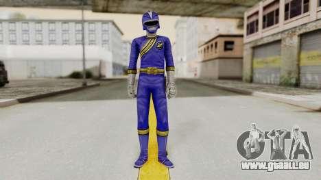 Power Rangers Wild Force - Blue pour GTA San Andreas deuxième écran