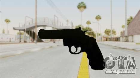 Colt .357 Black für GTA San Andreas zweiten Screenshot