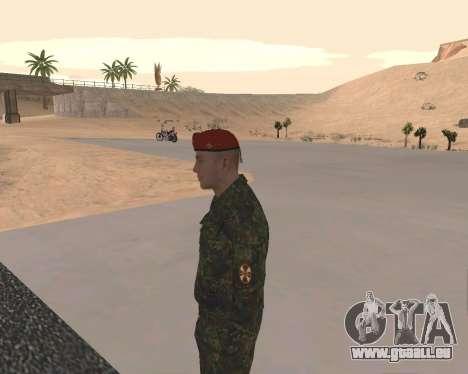 Pak Militaire Russe pour GTA San Andreas huitième écran