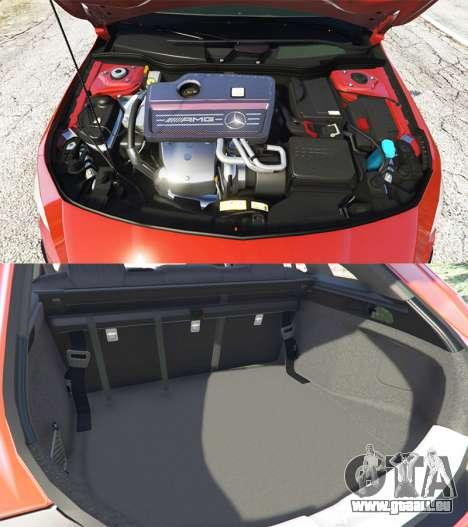 Mercedes-Benz CLA 45 AMG [AMG Wheels] pour GTA 5