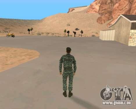 Pak Militaire Russe pour GTA San Andreas