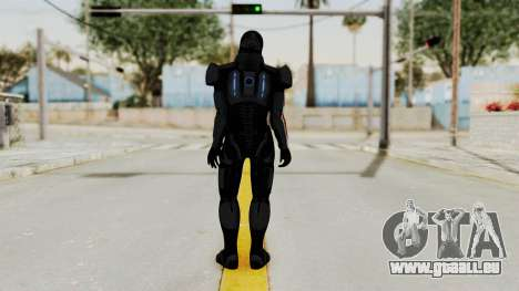 ME2 Shepard Default N7 Armor with Death Mask für GTA San Andreas dritten Screenshot