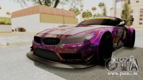 BMW Z4 GT3 Tobisawa Misaki pour GTA San Andreas