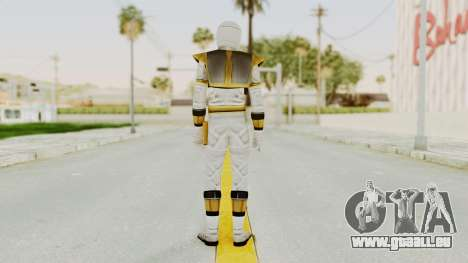 Mighty Morphin Power Rangers - White für GTA San Andreas dritten Screenshot