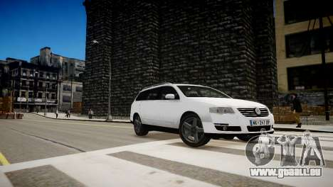 Volkswagen Passat Variant 2010 V1 pour GTA 4 est une vue de l'intérieur