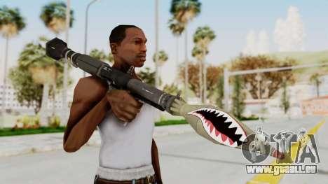 GTA 5 Rocket Launcher Shark mouth für GTA San Andreas