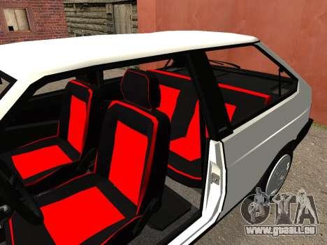 VAZ 2108 Stock by Greedy für GTA San Andreas Rückansicht