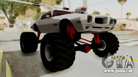 Pontiac Firebird 1970 Monster Truck für GTA San Andreas