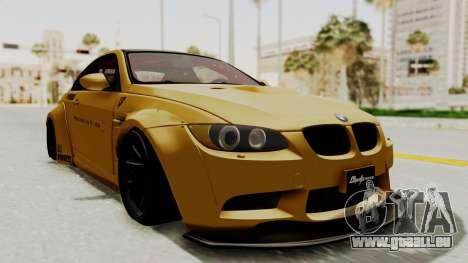 BMW M3 E92 Liberty Walk pour GTA San Andreas