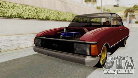 Ford Falcon Sprint für GTA San Andreas zurück linke Ansicht