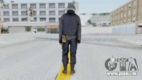 MGSV Phantom Pain Zero Risk Vest v2 pour GTA San Andreas troisième écran