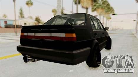 Volkswagen Jetta 2 für GTA San Andreas rechten Ansicht