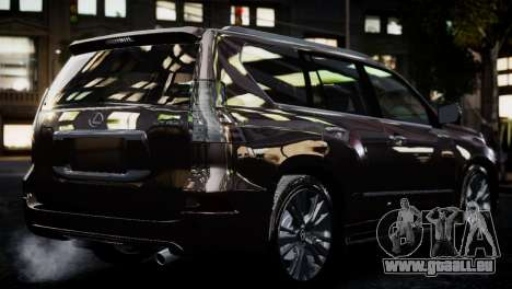 Lexsus GX460 für GTA 4 linke Ansicht