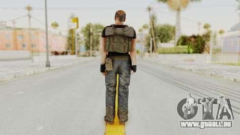 MGSV Phantom Pain RC Soldier T-shirt v1 für GTA San Andreas dritten Screenshot