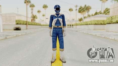 Power Rangers Lightspeed Rescue - Blue pour GTA San Andreas deuxième écran