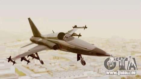 Northrop F-5E Tiger II JASDF pour GTA San Andreas