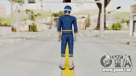 Power Rangers Lightspeed Rescue - Blue für GTA San Andreas dritten Screenshot
